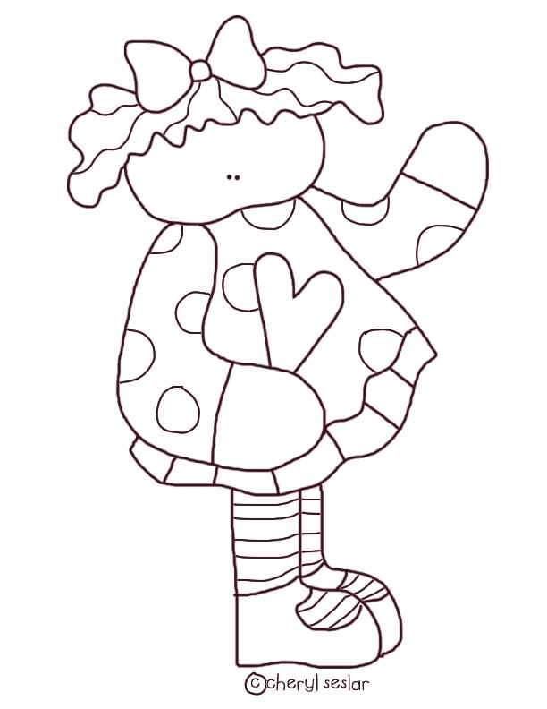 Free country charm coloring pages for Country girl coloring pages